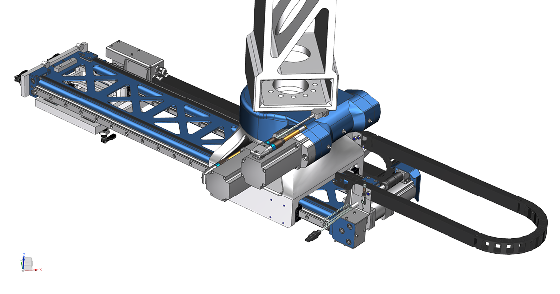 FLX190. FLX Transfer System. SSEB Systems Transfersysteem FLX is een automatiseringssysteem voor nieuwe en bestaande, hydraulische persen en 3D lasersnijmachines. Met het systeem kunnen platines en halffabricaten automatisch ingelegd, doorgelegd en uitgehaald worden.