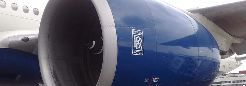 Tooling engineering voor Rolls-Royce Trent 1000 in Boeing 787 Dreamliner. SSEB ontwikkelt specialistische gereedschappen voor deze vliegtuigmotor.