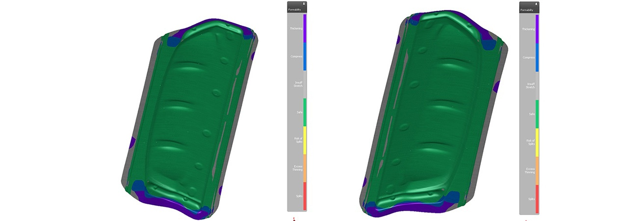 AutoForm simulations for Polytec Car Styling